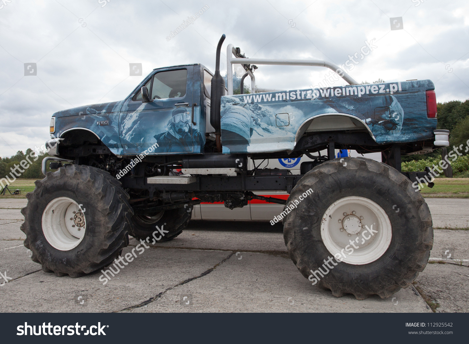 Katowice Poland September Monster Truck Stock Photo