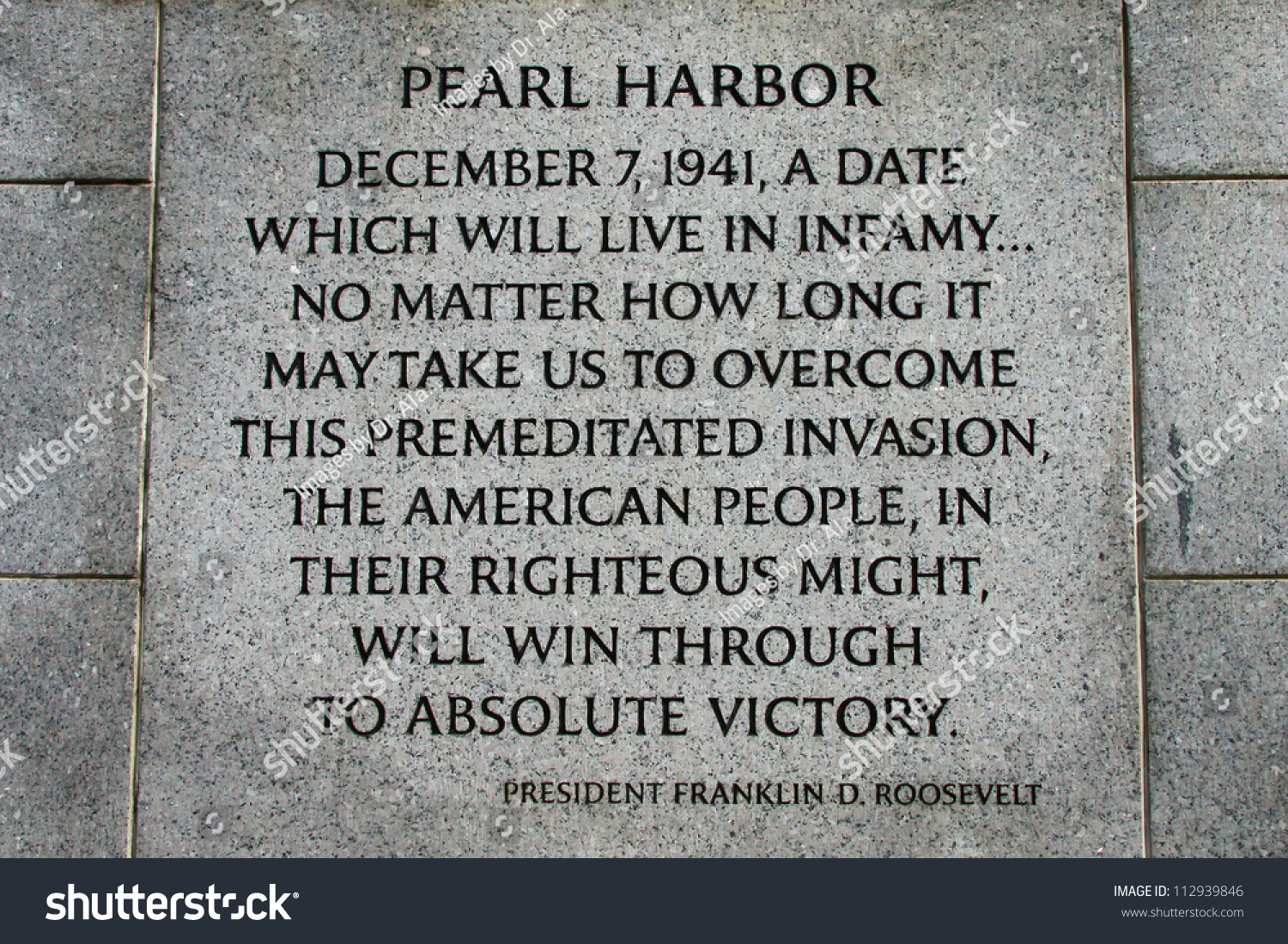 pearl harbor address to the nation speech