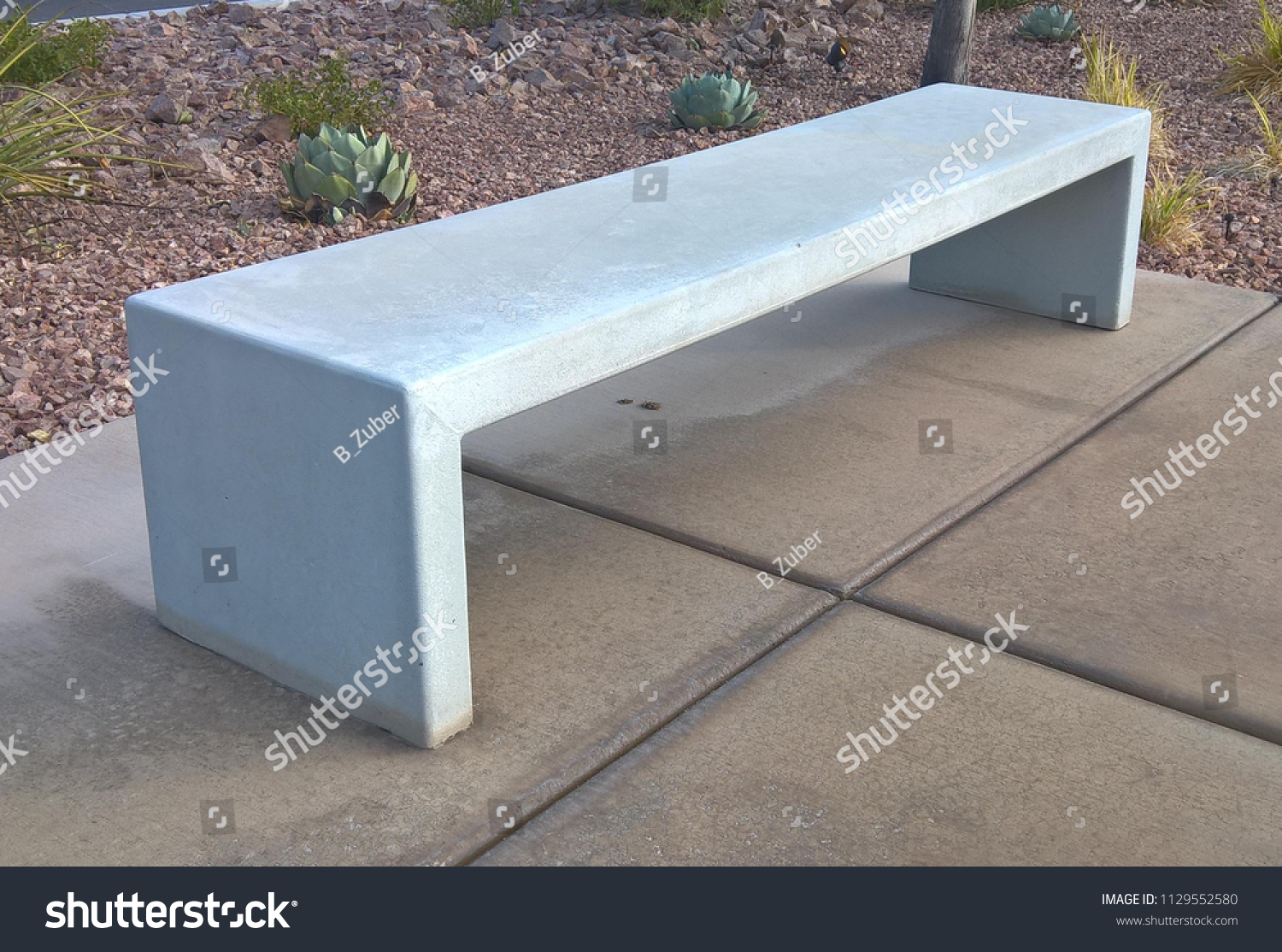 Cadence Central Park Bench Right View Stock Photo Edit Now