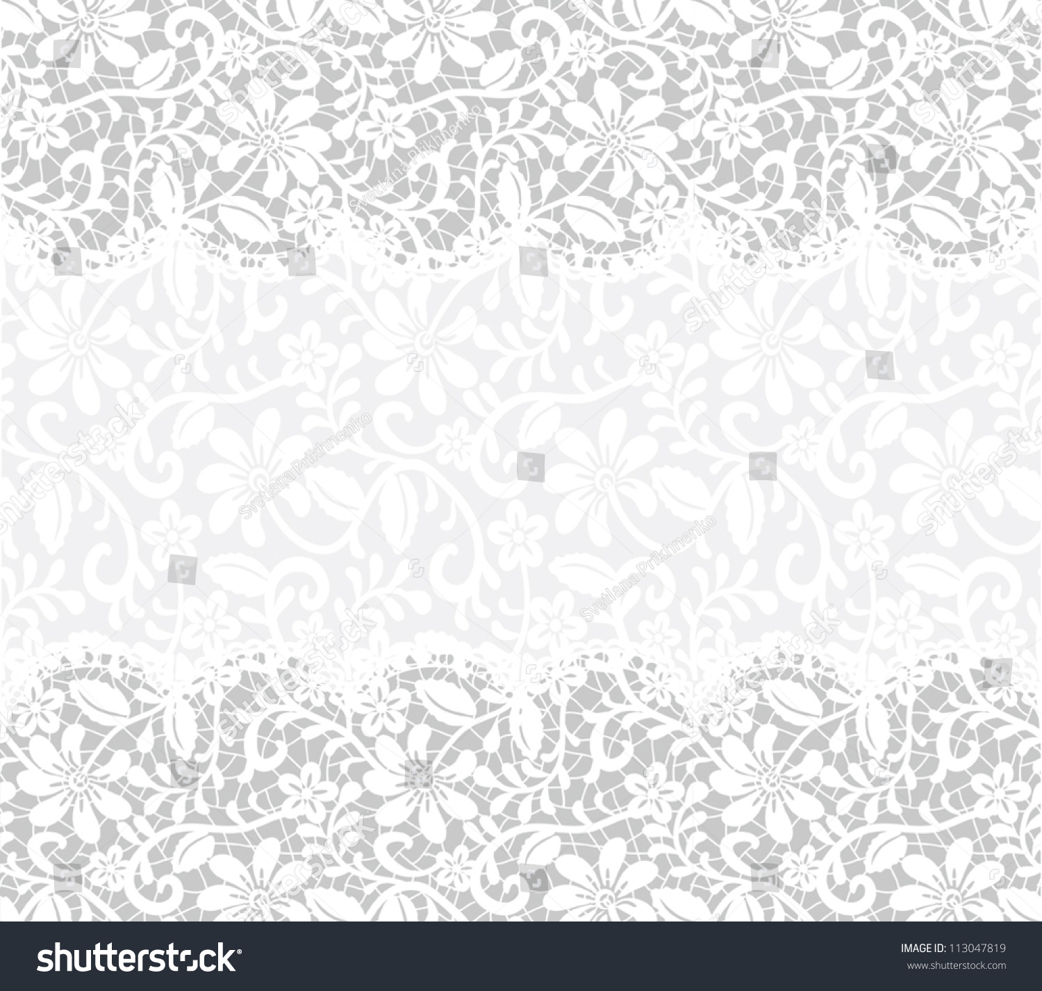 Template Wedding Invitation Greeting Card Lace Stock Vector 113047819