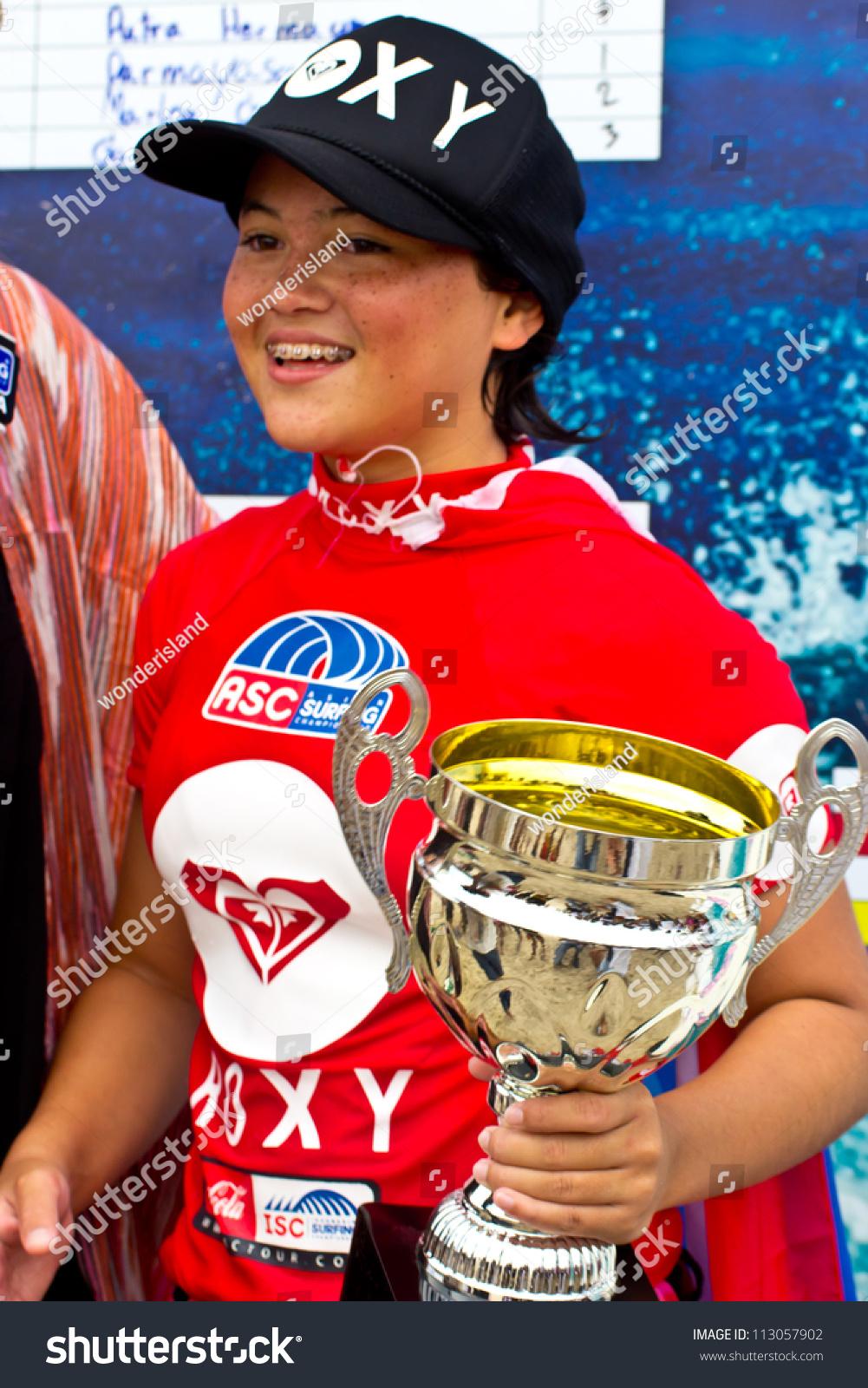 Phuket Thailand-September 15: Anissa Flynn, Winner Of ...