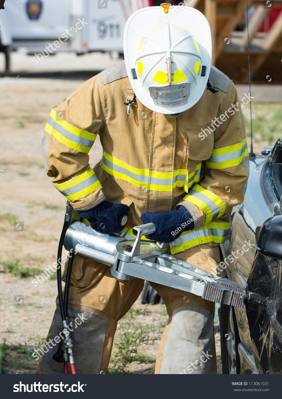 life of a firefighter Some men and women face firefights and some literally fight fires, but one man  whose day begins and ends with thoughts that he might have to.