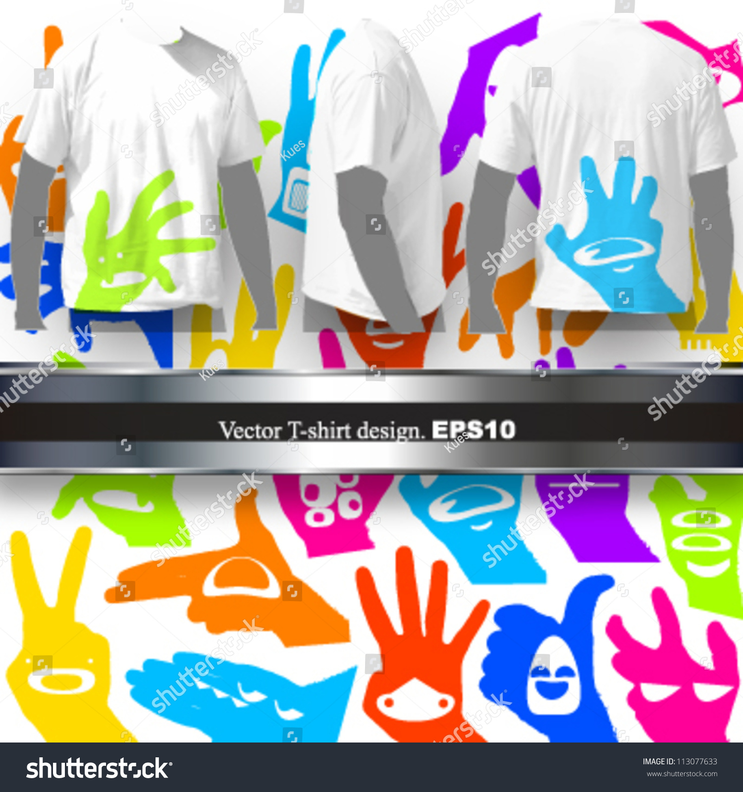 T shirt design vector picture 113077633 shutterstock for Shutterstock t shirt design