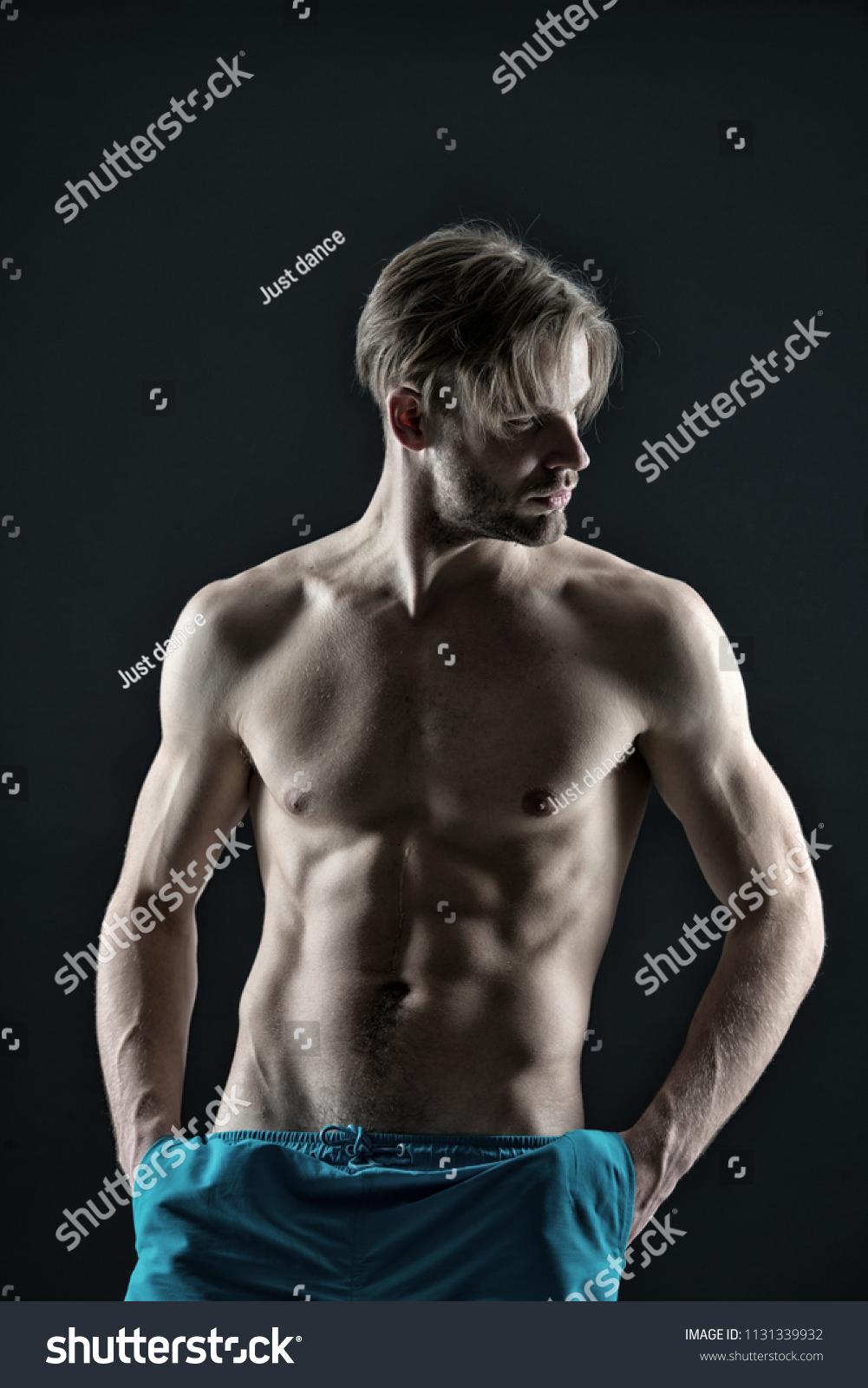 Man Six Pack Ab Muscles Training Stock Photo Edit Now 1131339932