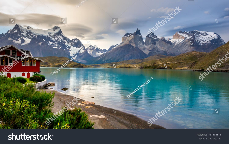 National Park Torres Del Paine Chile Stock Photo (Edit Now