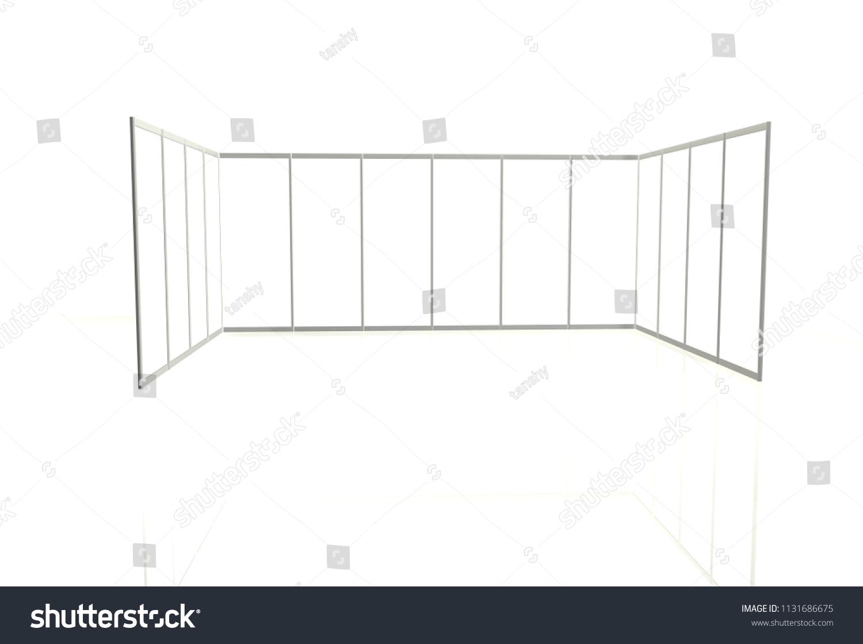 Exhibition Stand Sketch : Storage exhibition stand