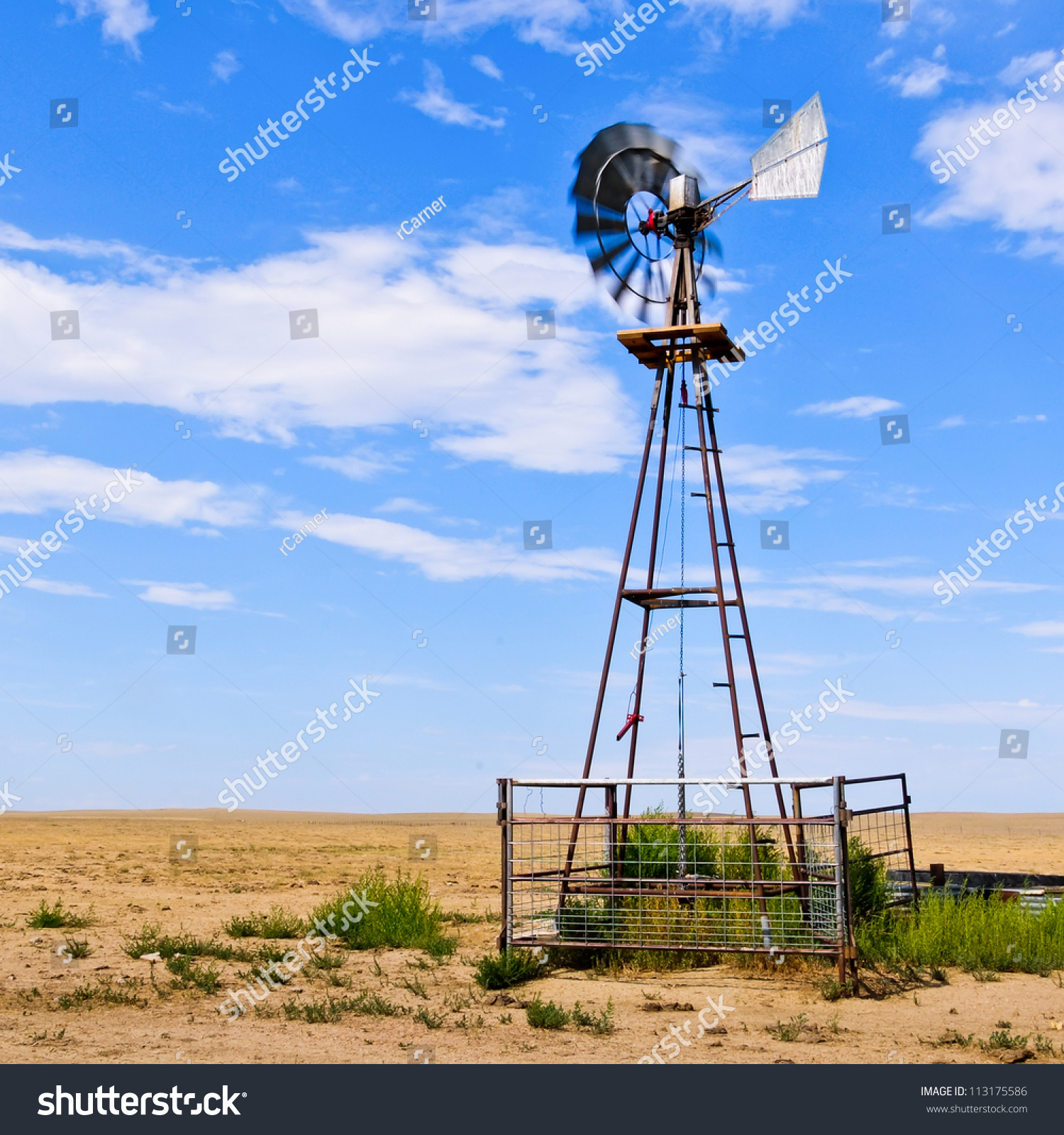 working of windmill