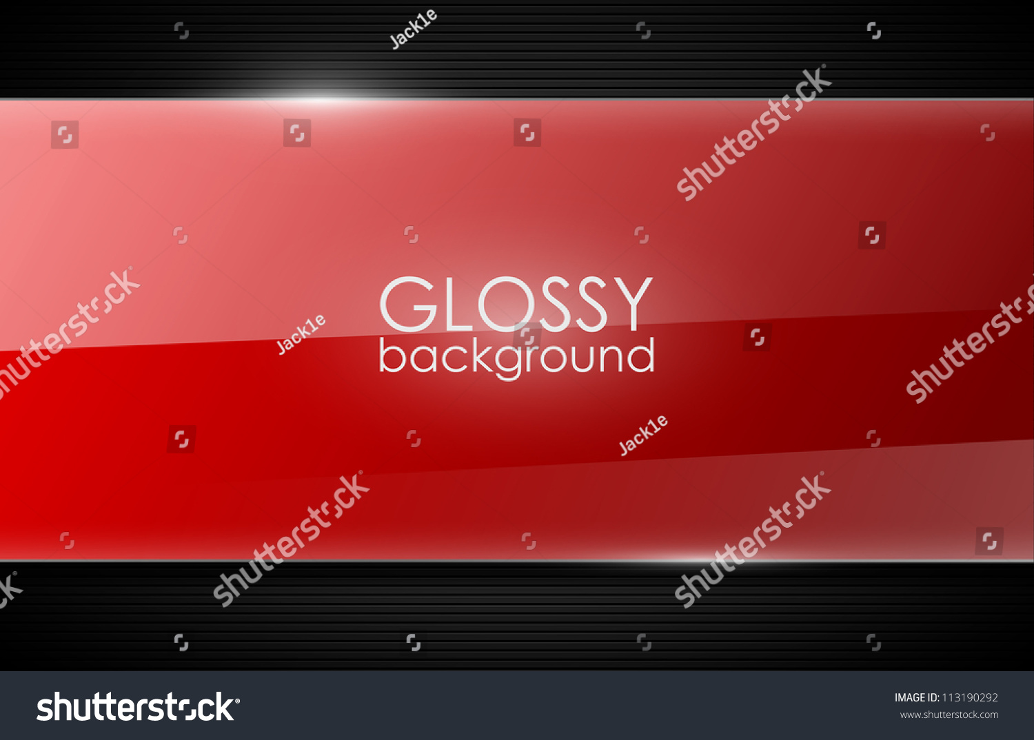 glossy background