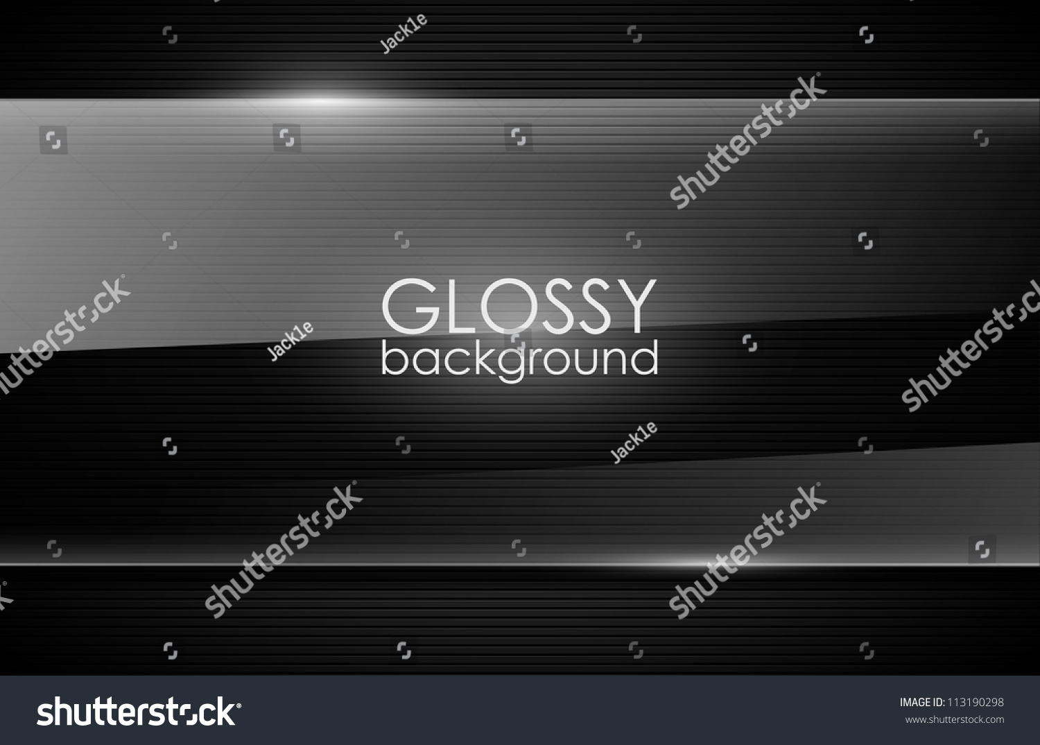 Vector Glossy Background Stock Vector 113190298 - Shutterstock