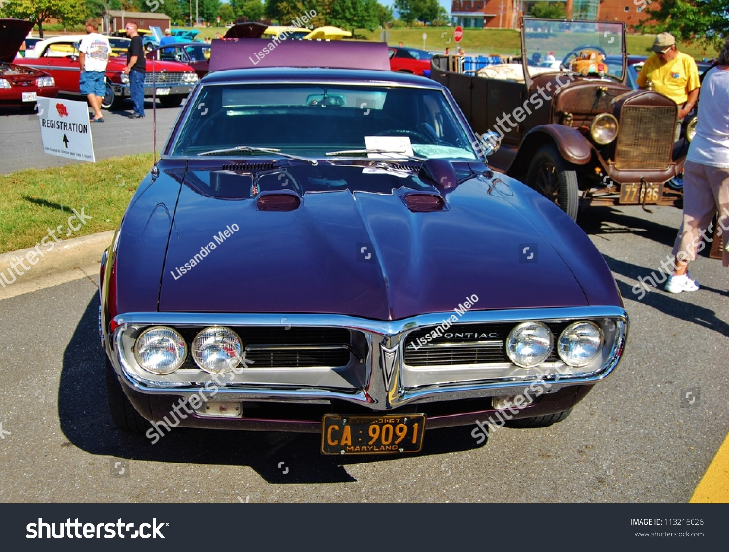 Frederick md september 16 1967 pontiac stock photo for Motor vehicle administration md