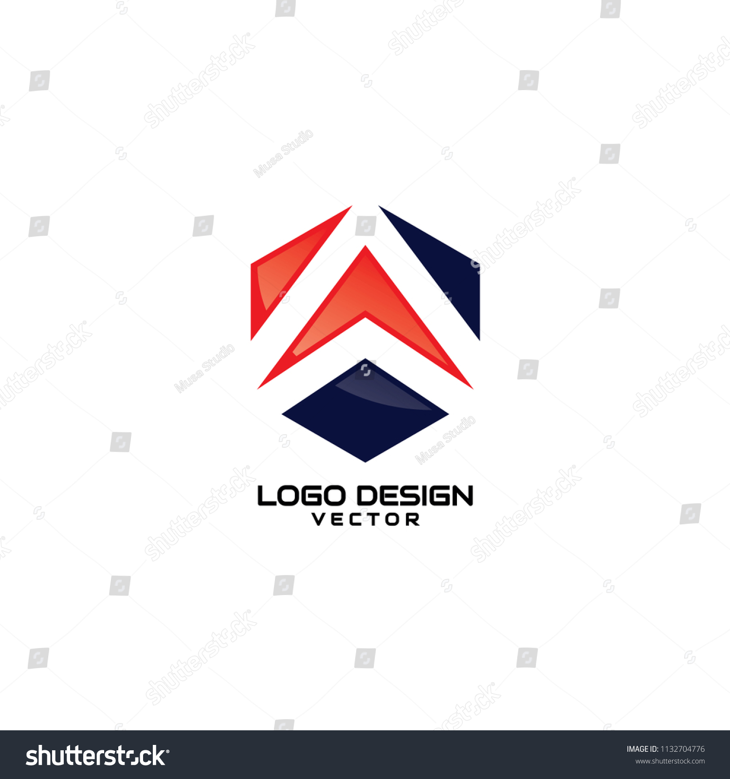 abstract modern symbol company logo template stock vector royalty