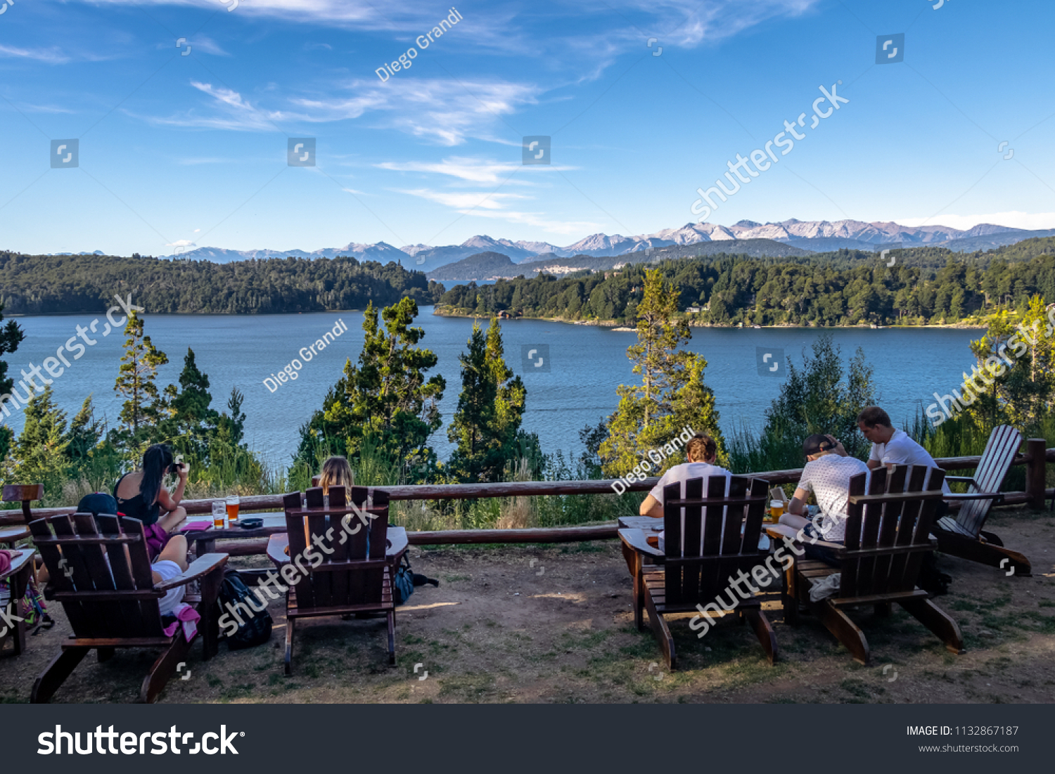 Circuito Chico Bariloche : Bariloche argentina feb 14 2018 patagonia stock photo royalty free