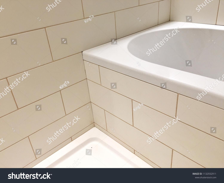 Seamless Perspective Corner Bathtub Bathroom Wall Stock Photo Edit Now 1132932911,Furnishing A New Home
