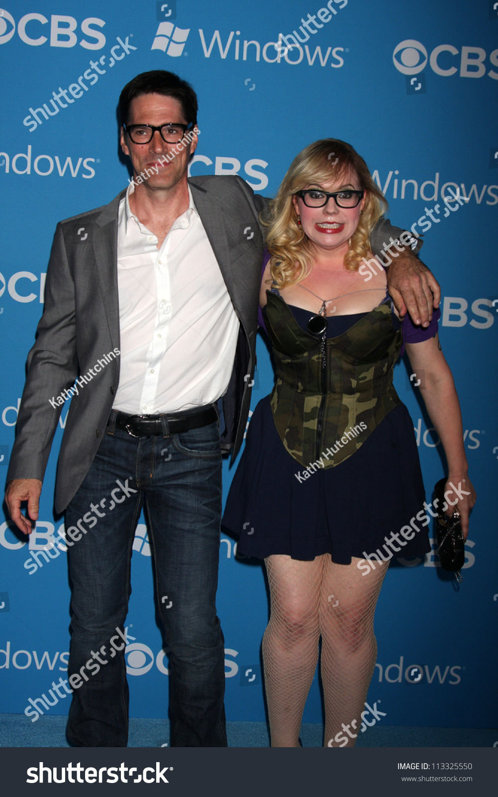 Los Angeles Sep 15 Thomas Gibson Stock Photo 113325550 ...