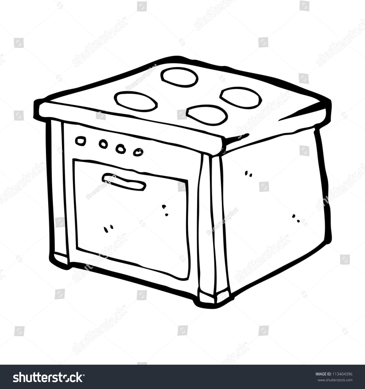 Cartoon Electric Cooker ~ Cartoon cooker stock photo shutterstock
