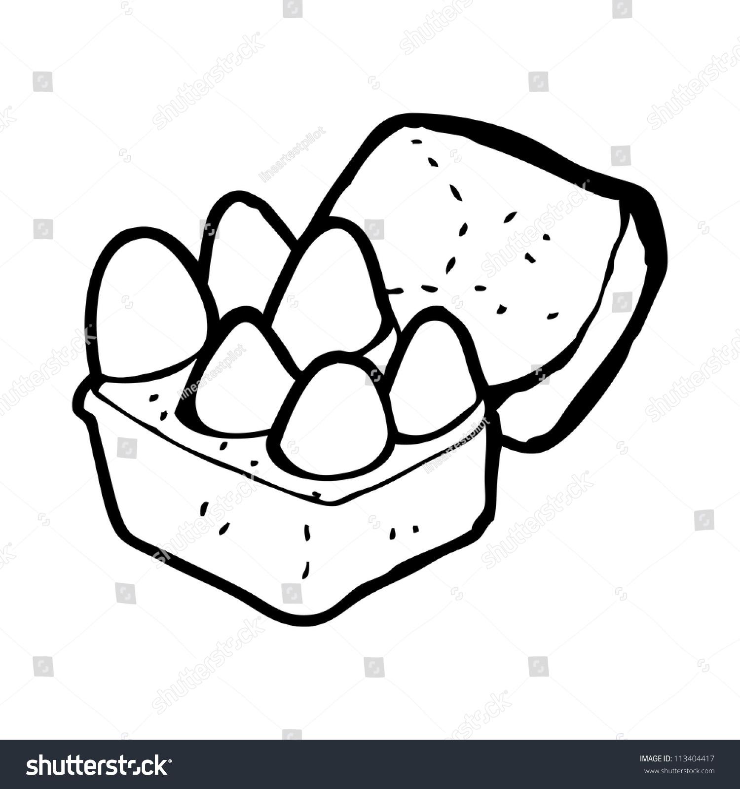 Line Drawing Egg : Cartoon eggs stock illustration shutterstock