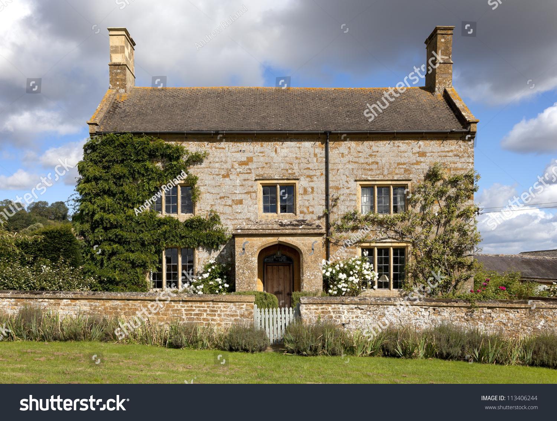 English Farmhouse Gloucestershire Stock Shutterstock