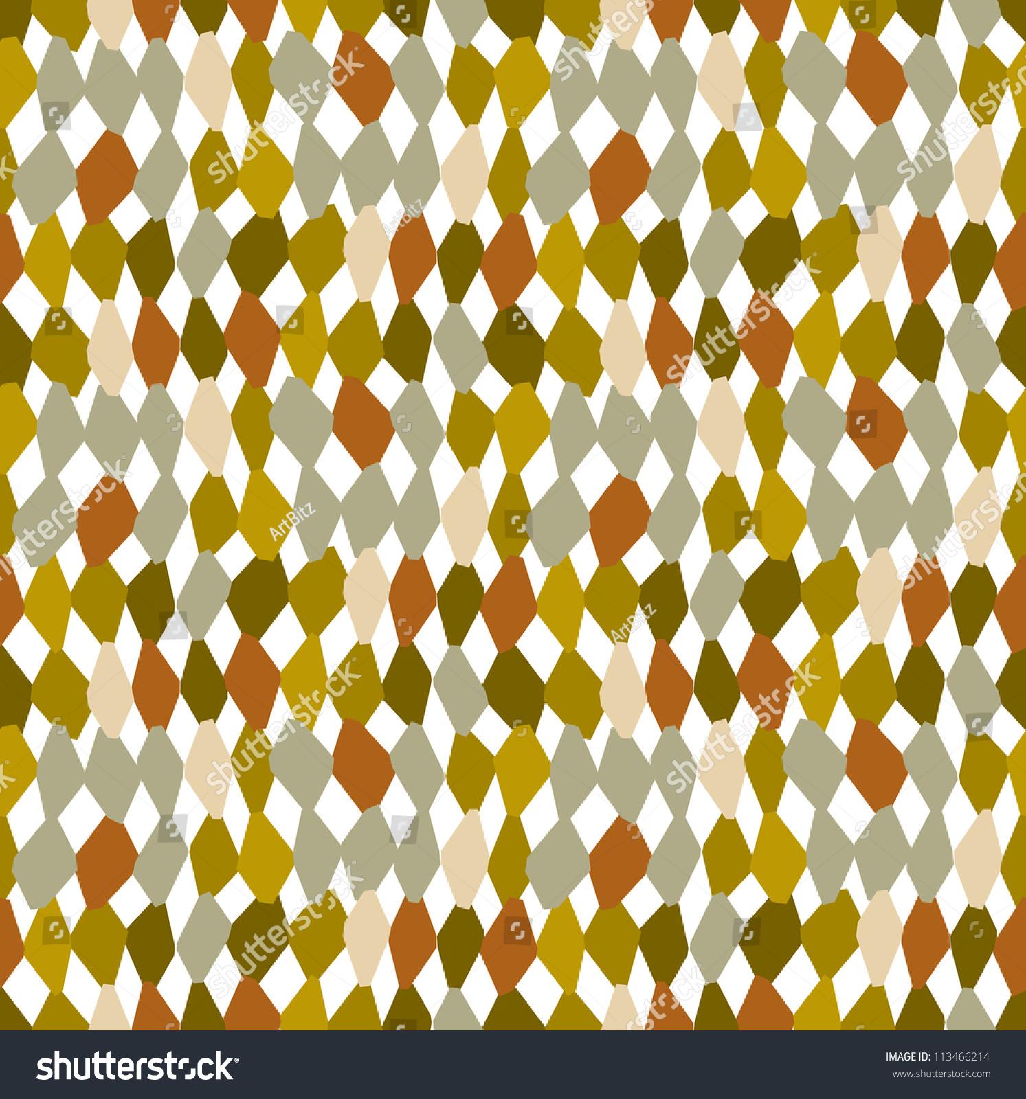 Vector Hand Drawn Abstract Organic Woven Texture