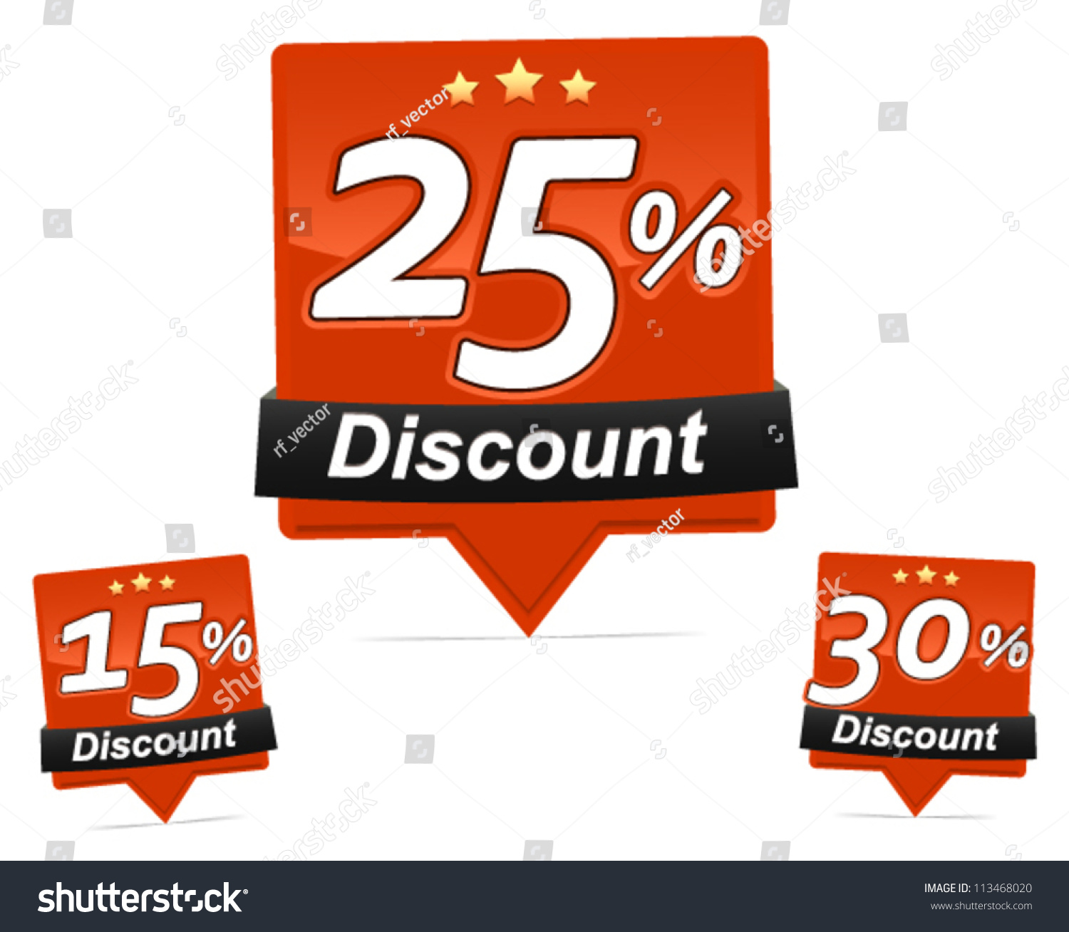discount badges shiny discount badges vector stock vector discount badges shiny discount badges vector for web shop flyer brochure and