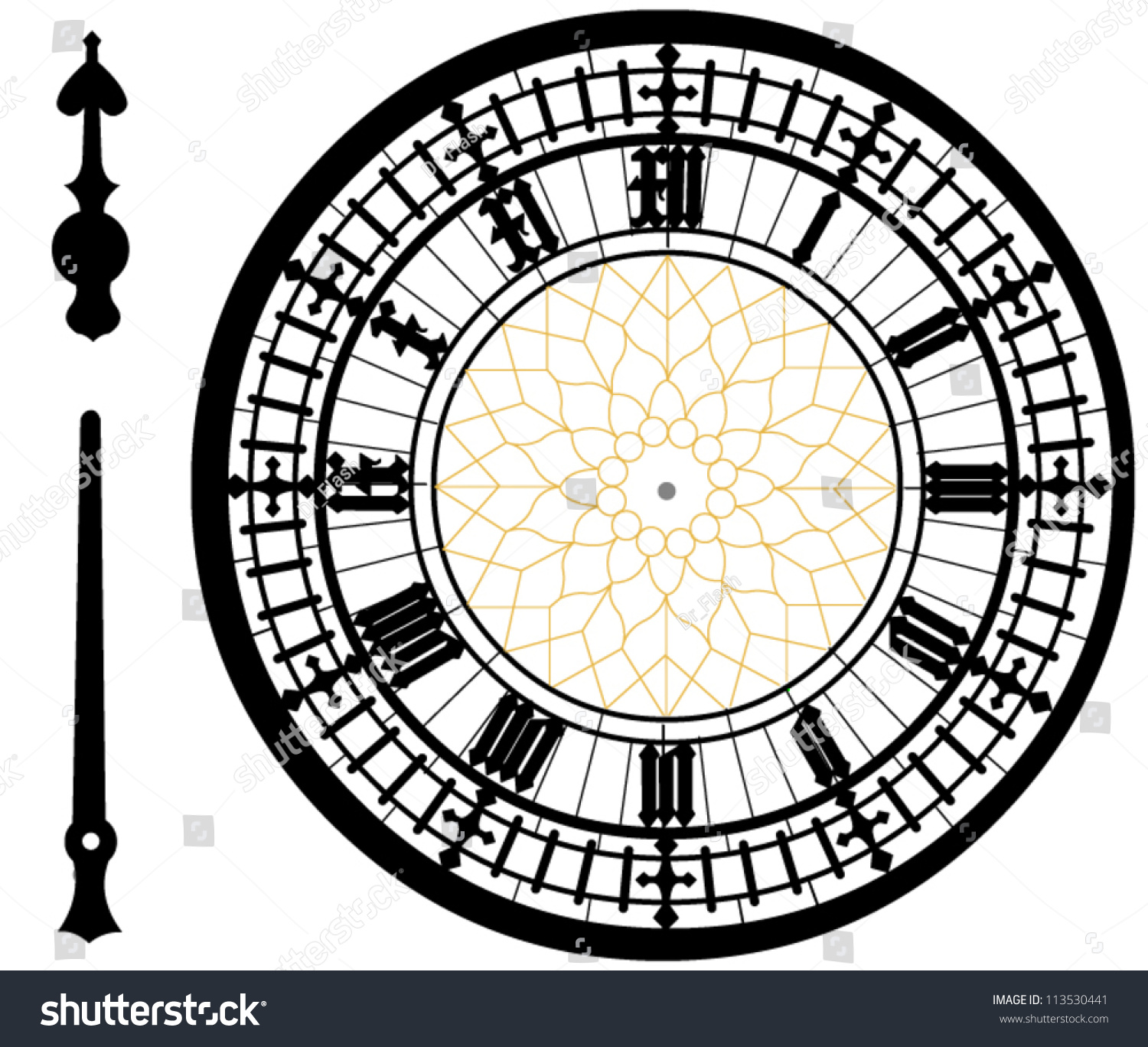High Resolution Coloring Page Big Ben