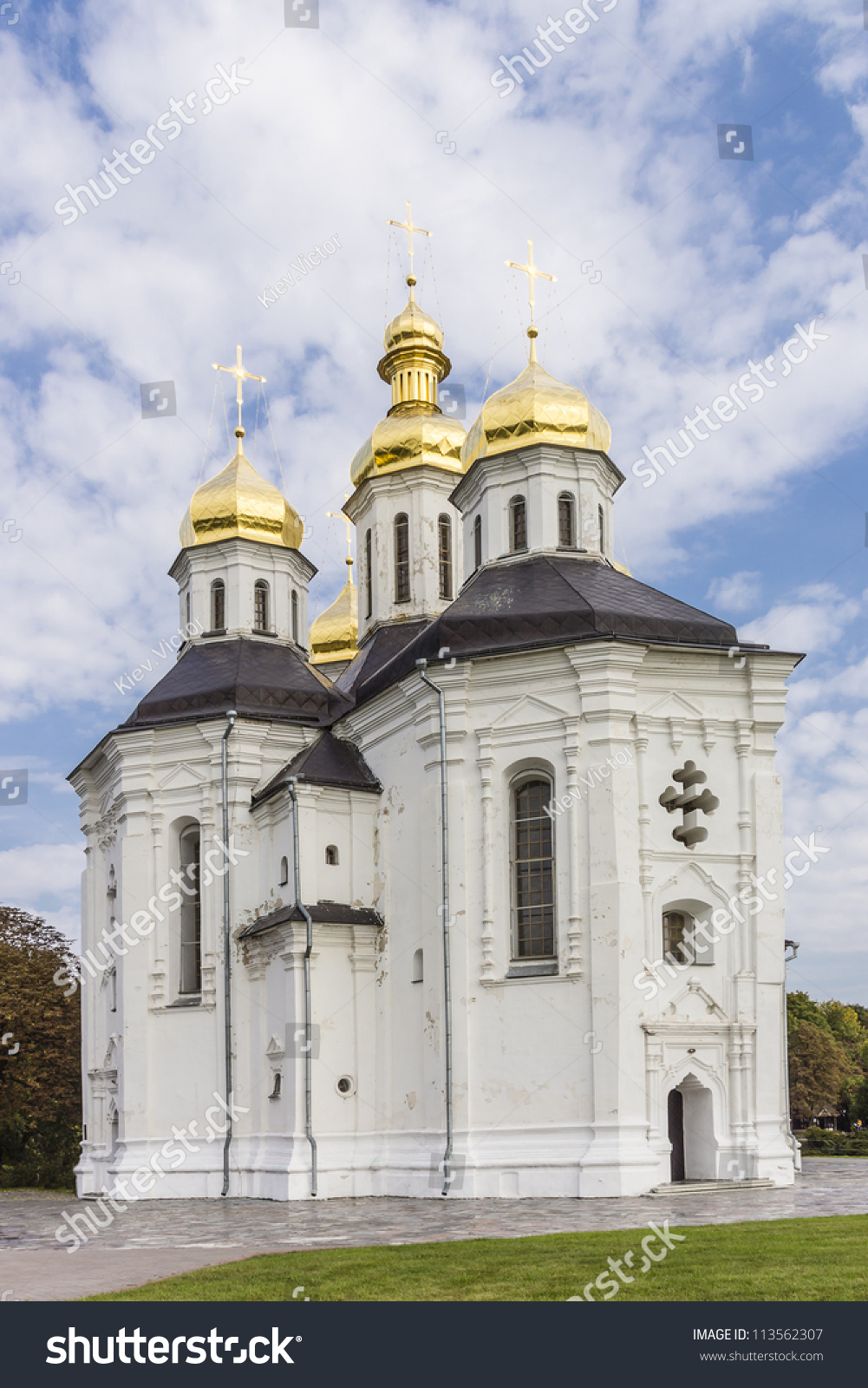 St. Ilyinsky Church - the first Orthodox church of Kievan Rus