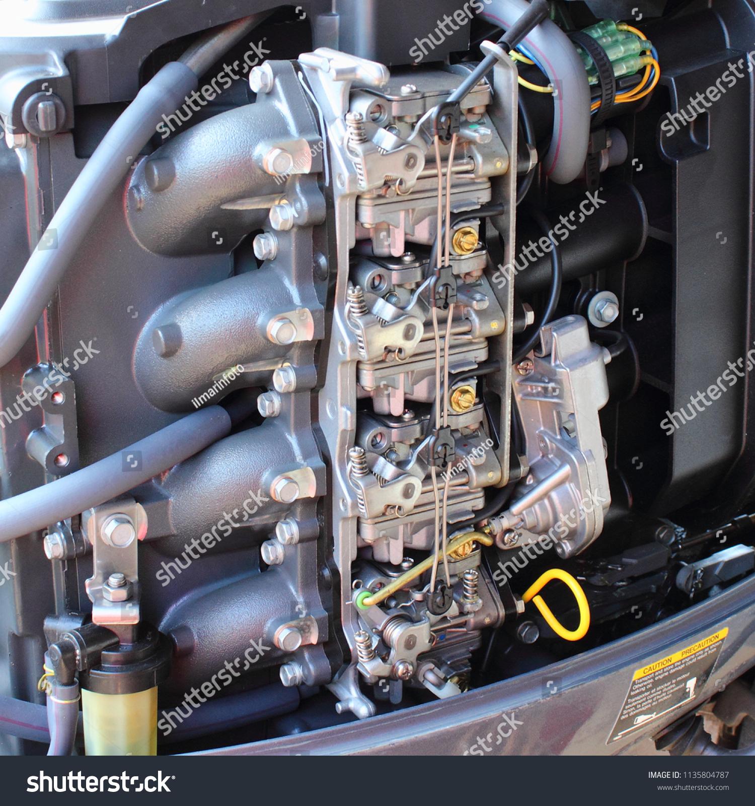[CSDW_4250]   Four Carburetors Intake Manifold Fuel Filter Stock Photo (Edit Now)  1135804787 | Intake Fuel Filter |  | Shutterstock