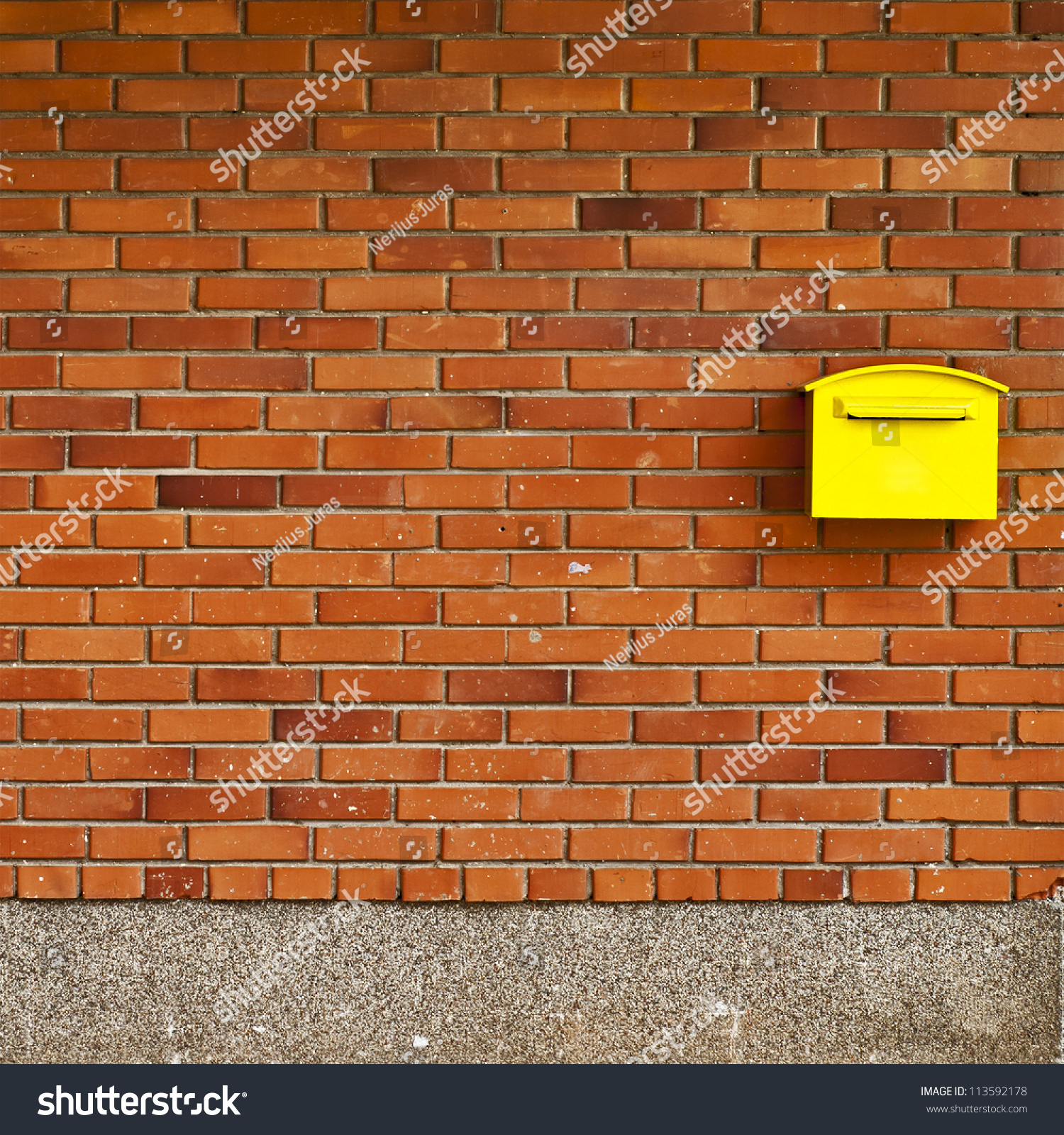 Brick wall background post office stock photo 113592178 for Brick wallpaper office