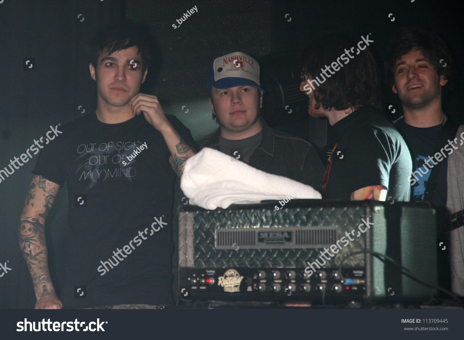 Fall Out Boy Performing Live American Honda Motor Co Inc Torrance Ca 01 05 07 Stock Photo