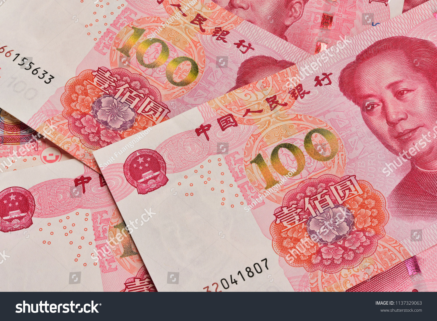 Mao Face 100 Yoan Chinese Money Stock Photo Edit Now 1137329063 Baby Music Cellular Phone From Bank Note