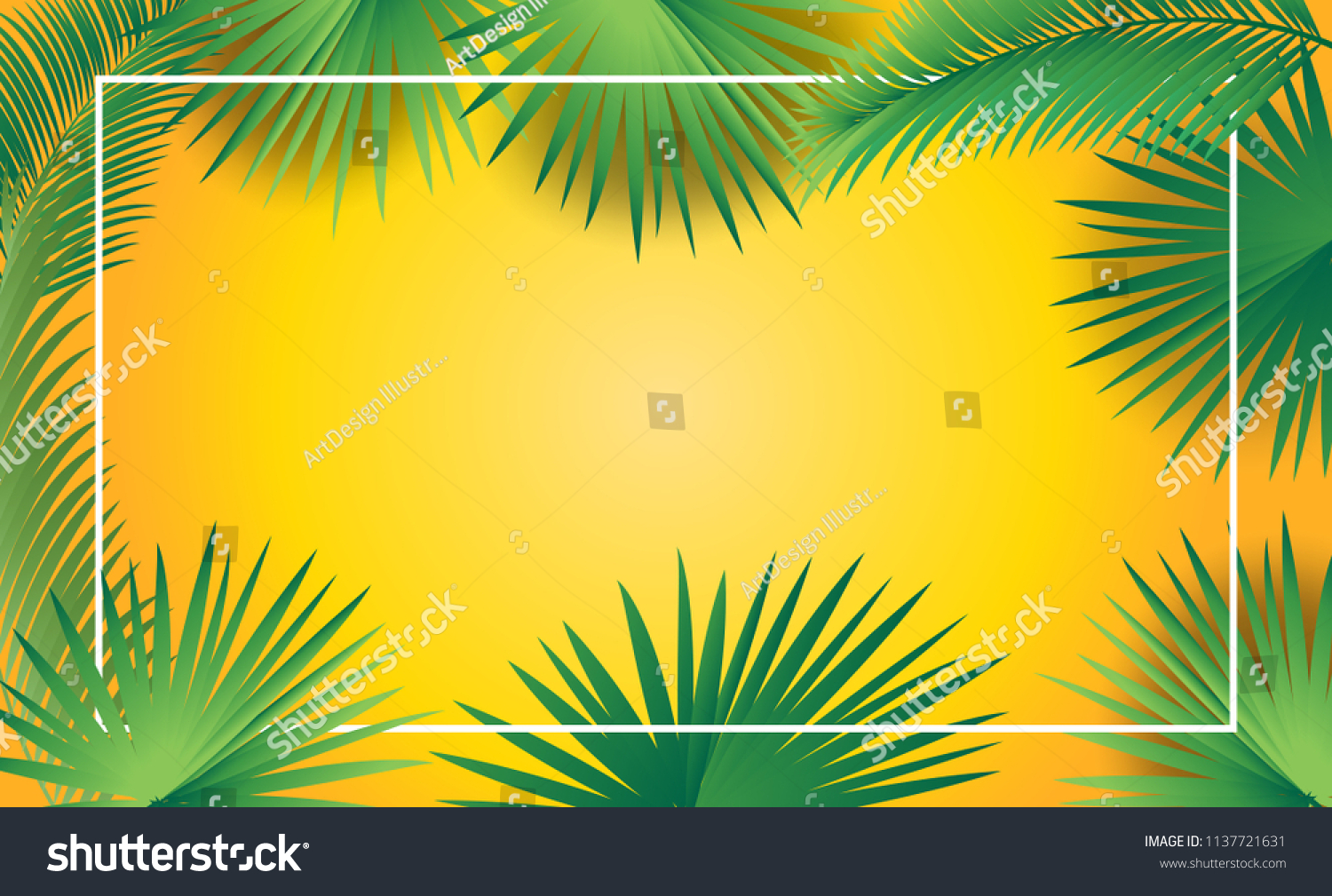 Rosh Hashanah Sukkot Greeting Card Border Stock Vector Royalty Free