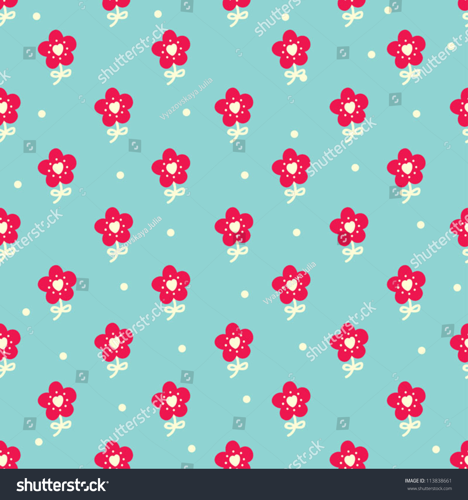 Cute flower backgrounds