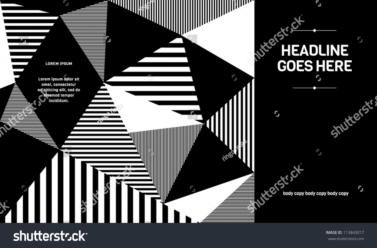 Design For Poster Vector