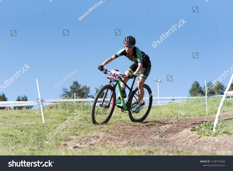 38410cf5e VALLNORD ANDORRA JULY 18 CYCLIST MERCEDESBENZ Stock Photo (Edit Now ...