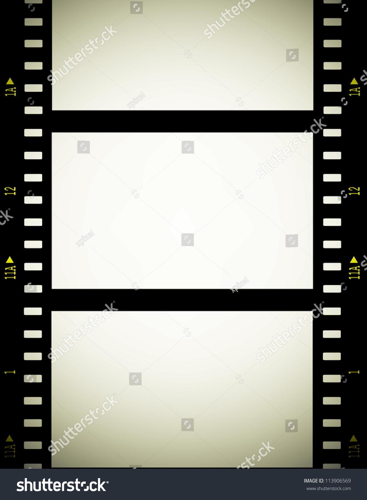 Old Film Reel Texture 35 Mm Film Strip Backg...