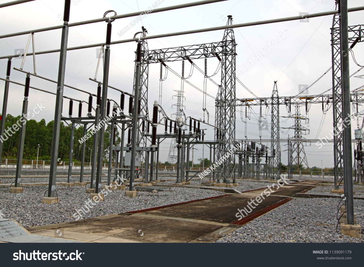 Electrical Insulation Switches Power Plant Stock Photo (Royalty Free ...