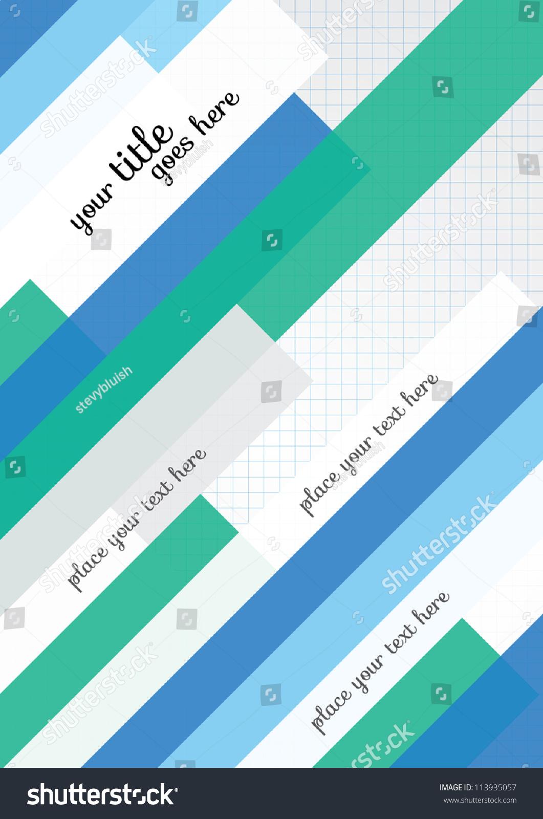 Poster design template - Print Vector Poster Design Template Layout Design Background