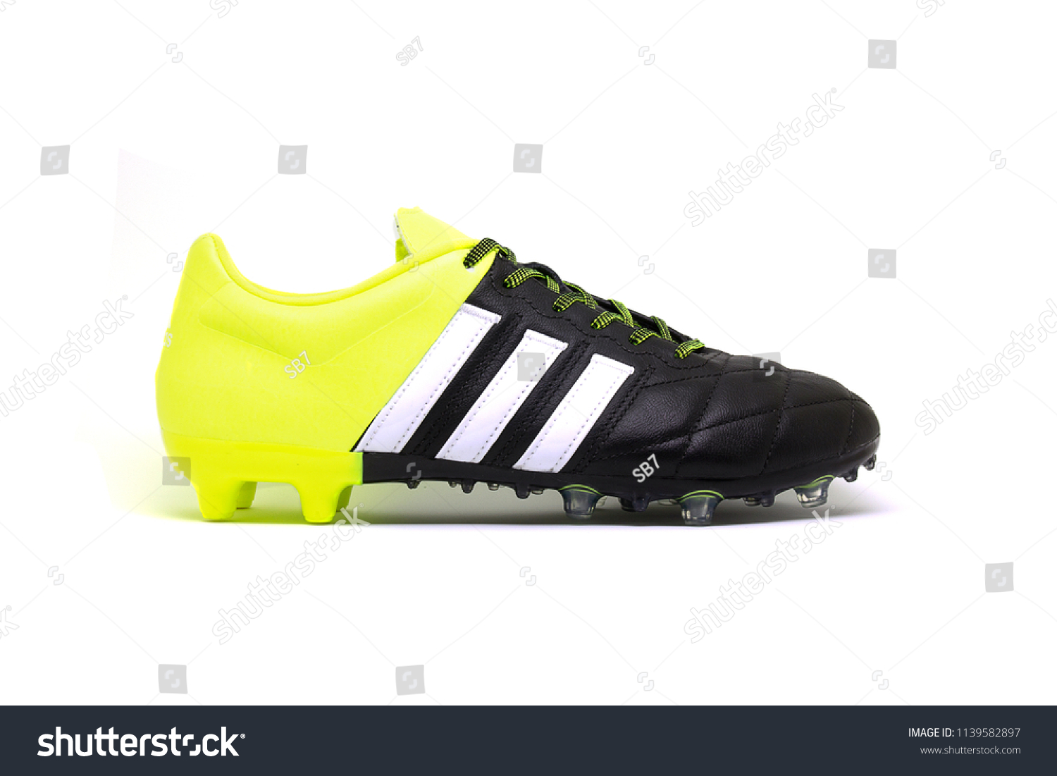 767626a395d8 Football Boots Soccer Shoes Adidas Ace Stock Photo (Edit Now ...