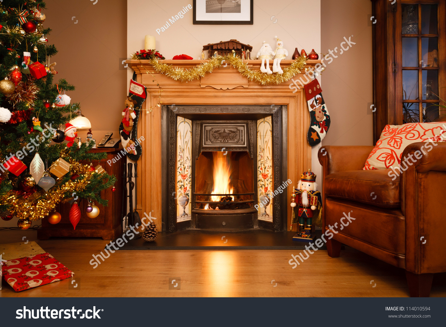 christmas living room pictures living room stock photo 114010594 17064