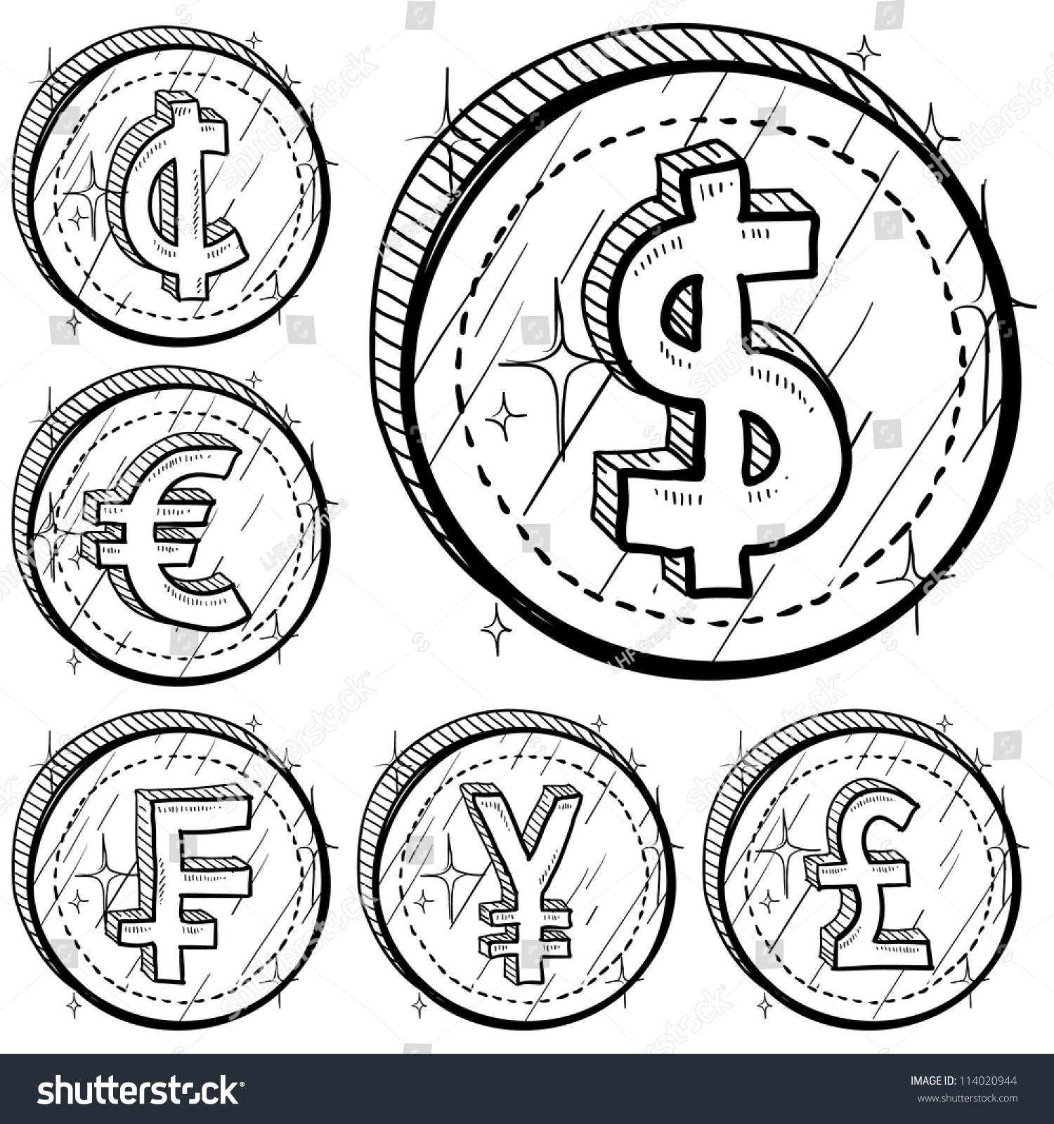 currency coloring pages french euro - photo#12