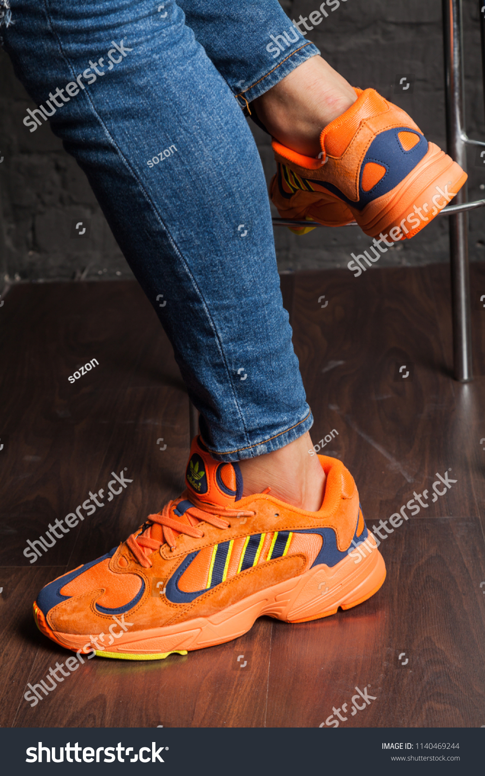 New Beautiful Colorful Nice Adidas Running Stock Photo (Edit Now ... 24e32ad74