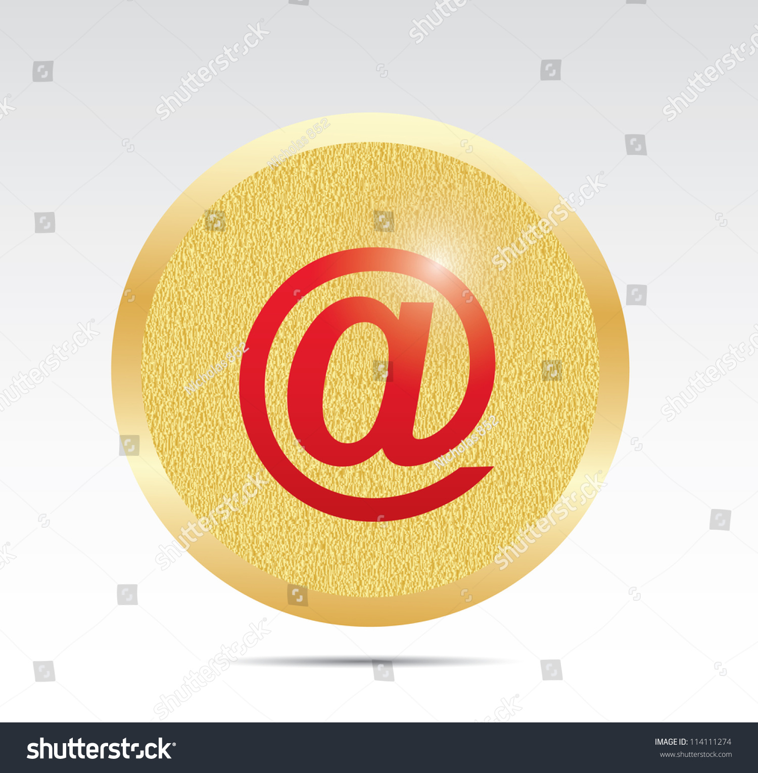 Email internet icon button stock illustration 114111274 shutterstock e mail internet icon button biocorpaavc