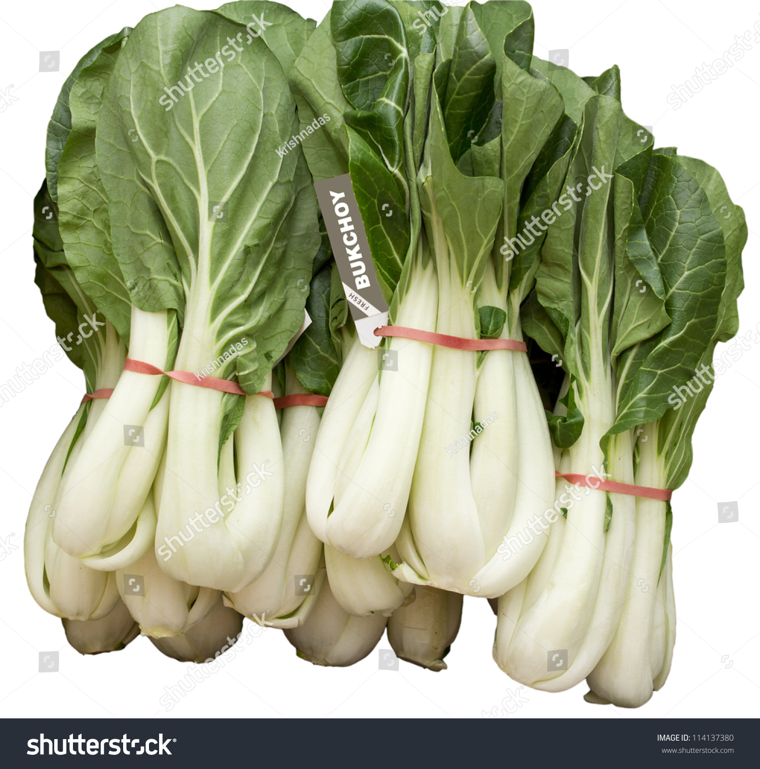 Bukchoy Vegetable Chinese Leaf Vegetables Used Stock Photo ...