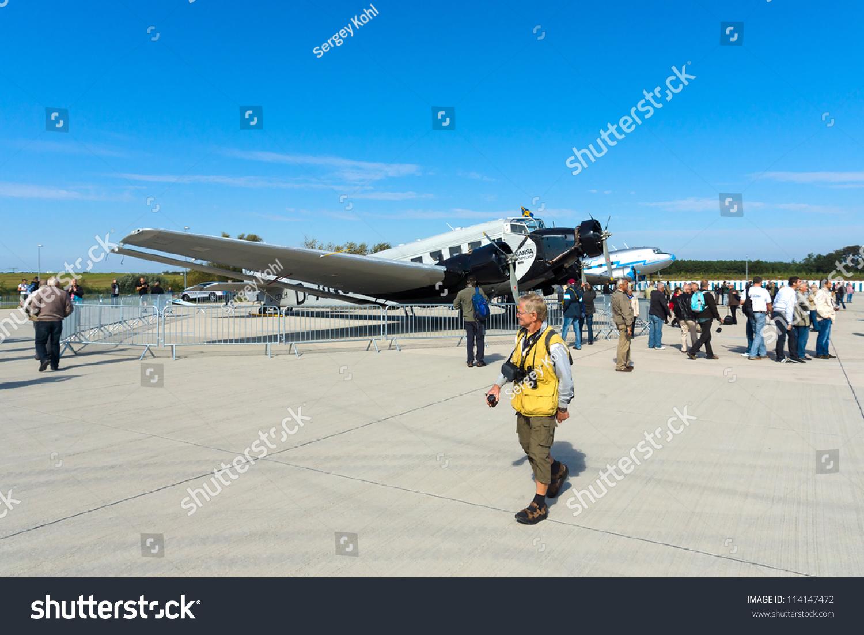 Junkers Berlin berlin september 14 german passenger aircraft junkers ju 52 the airline quot lufthansa