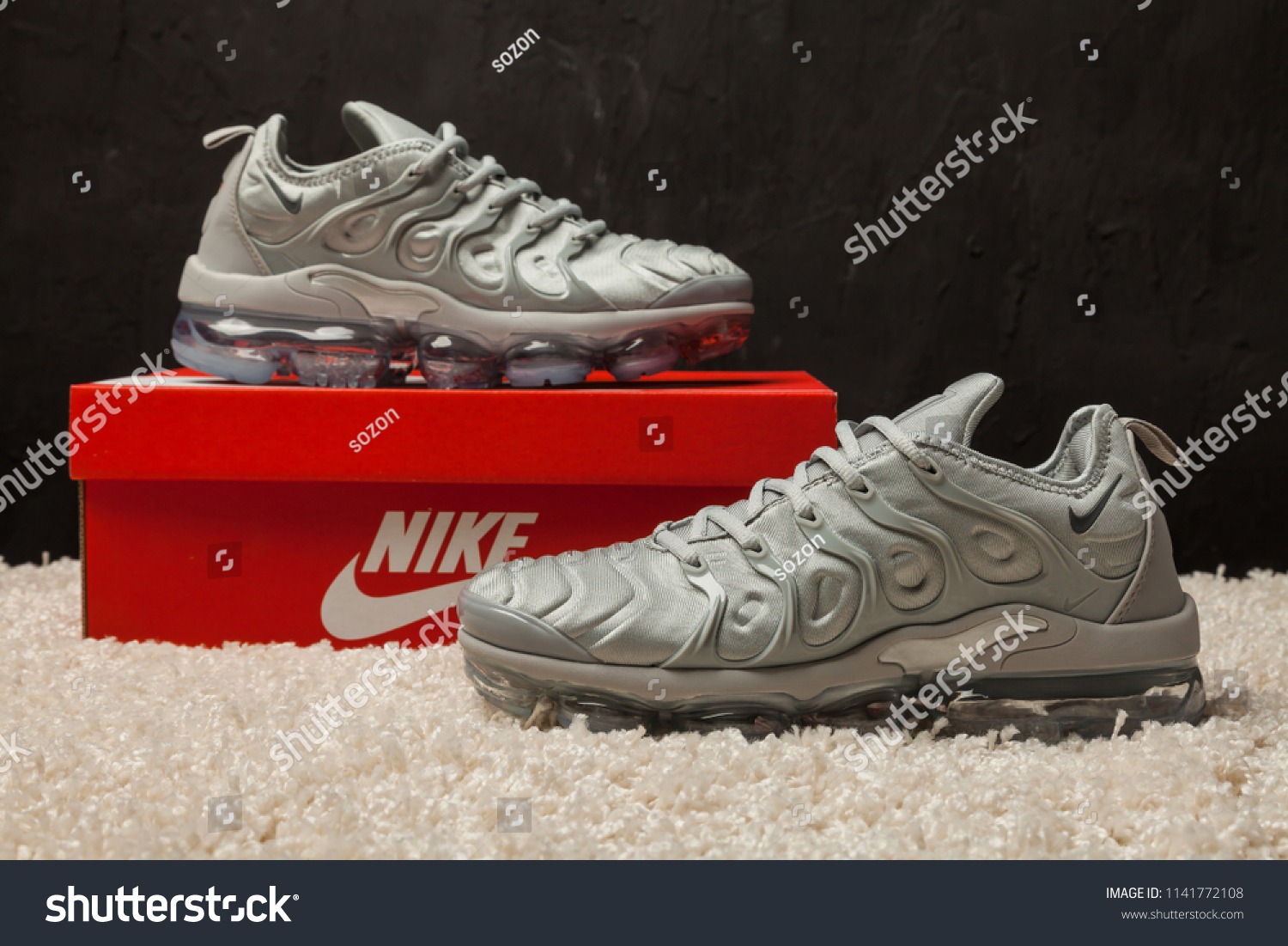 New Beautiful Colorful Nice Nike Air Stock Photo (Edit Now ... 8e6bab4c66c3