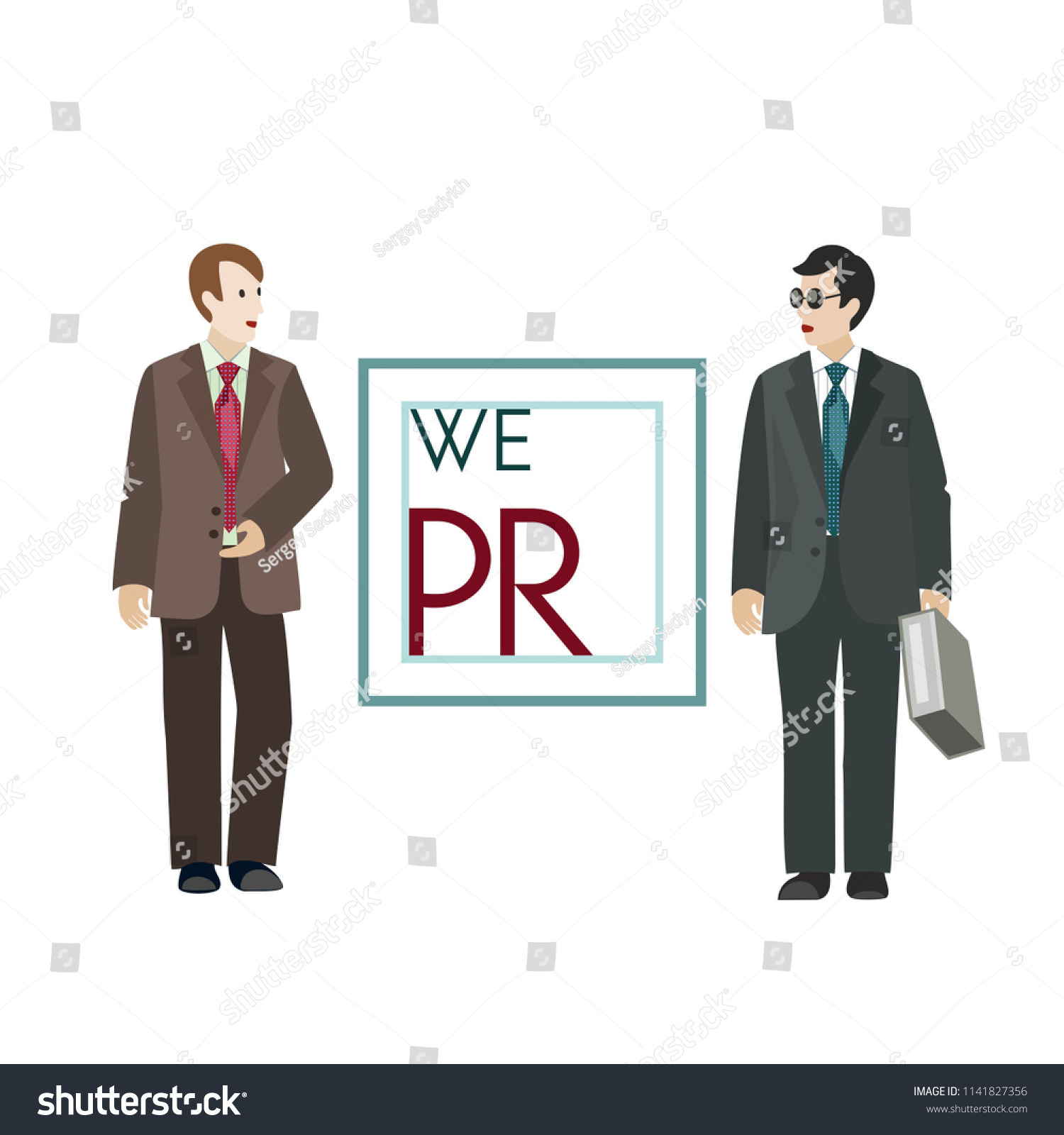 Day Pr Specialist Man Glasses Business Stock Vector Royalty Free 1141827356