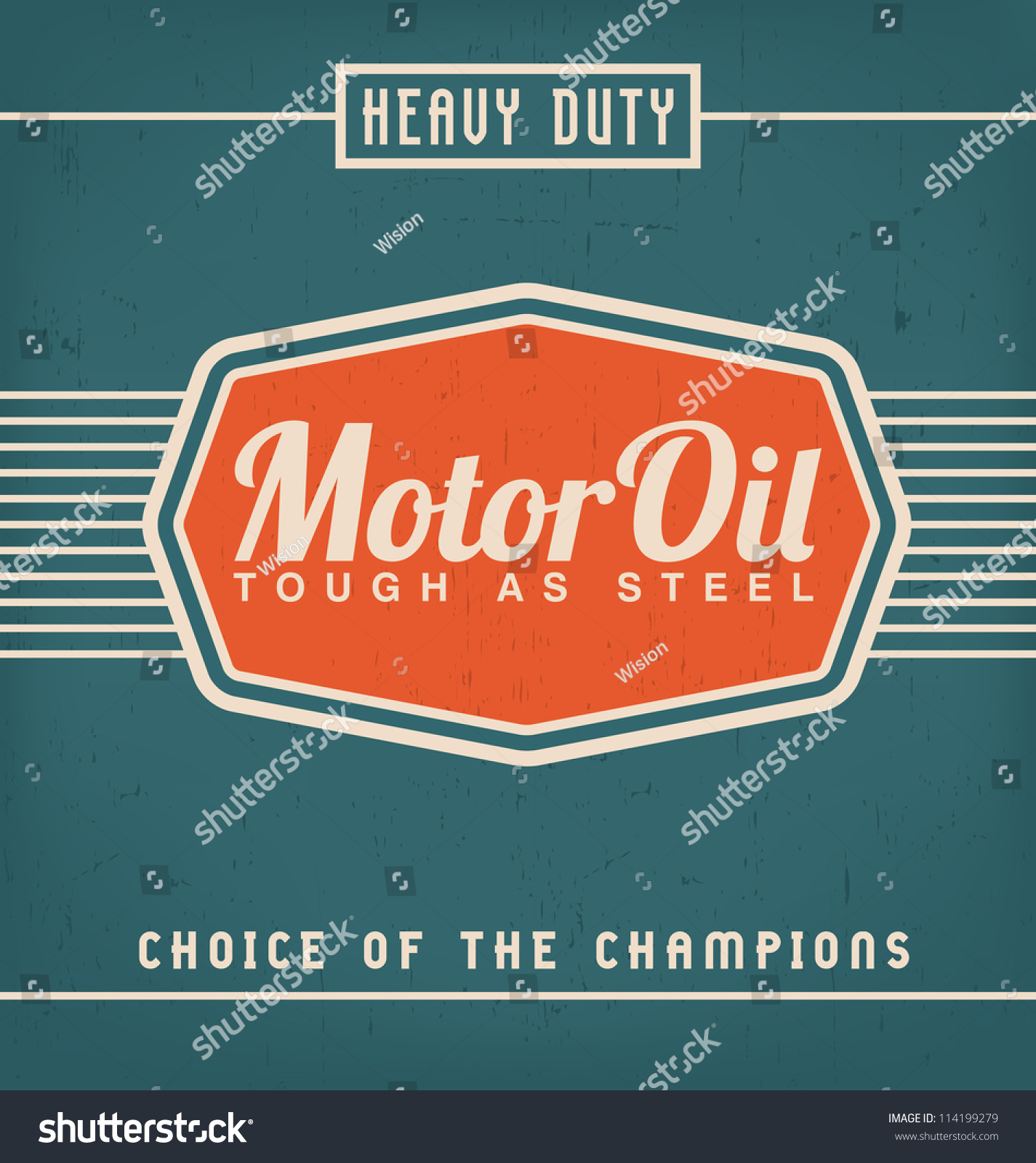 Vintage Label Design Template Stock Vector 114199279 - Shutterstock