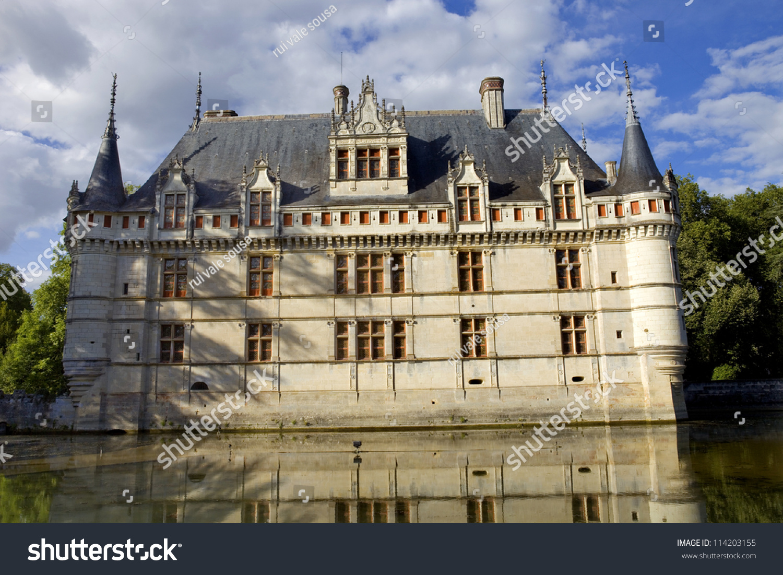Chateau Azaylerideau Loire Valley France Stock Photo Edit Now