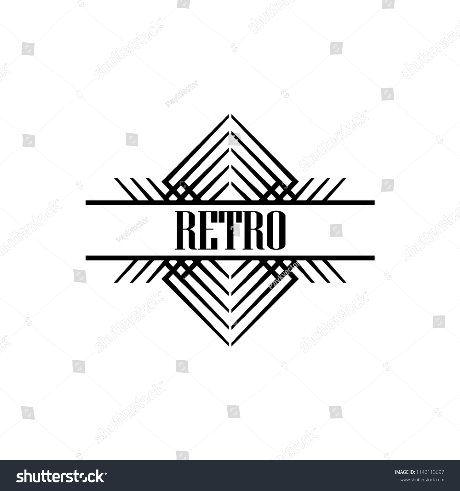 vector logo design template concept art stock vector royalty free