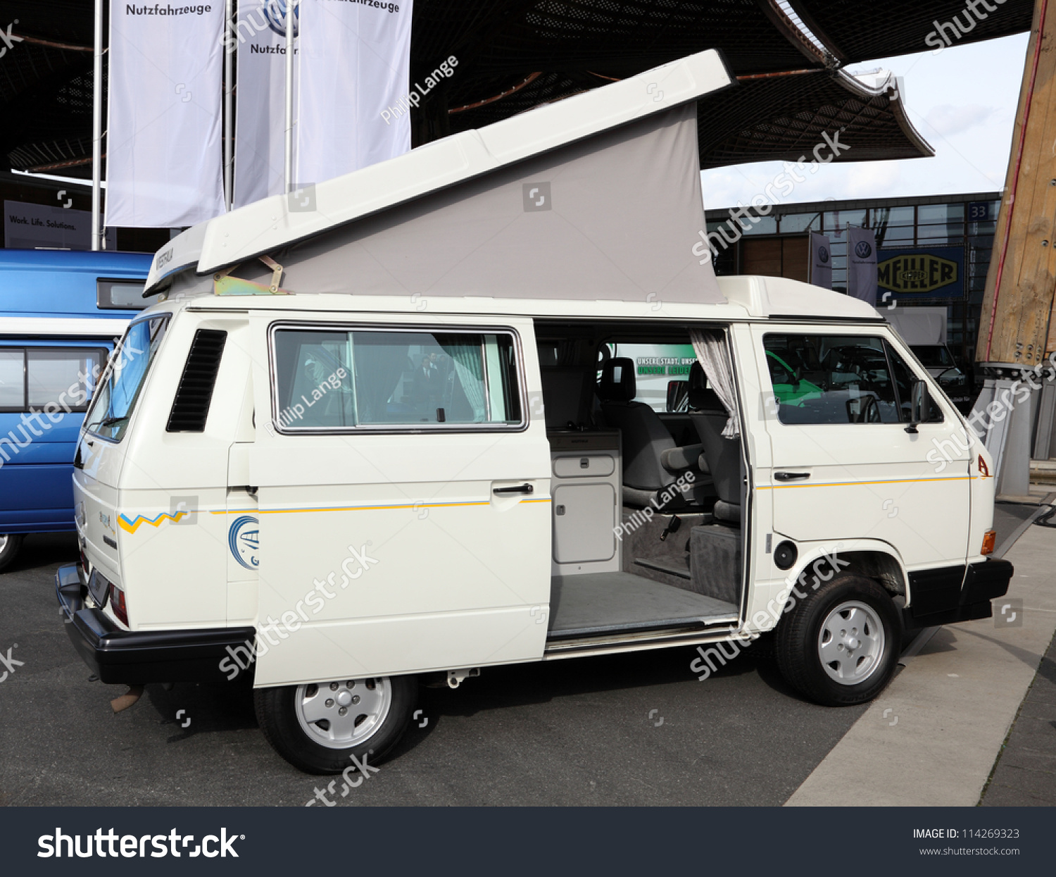 Hannover Sep 20 Volkswagen T3 Westfalia Stock Photo Edit Now 114269323