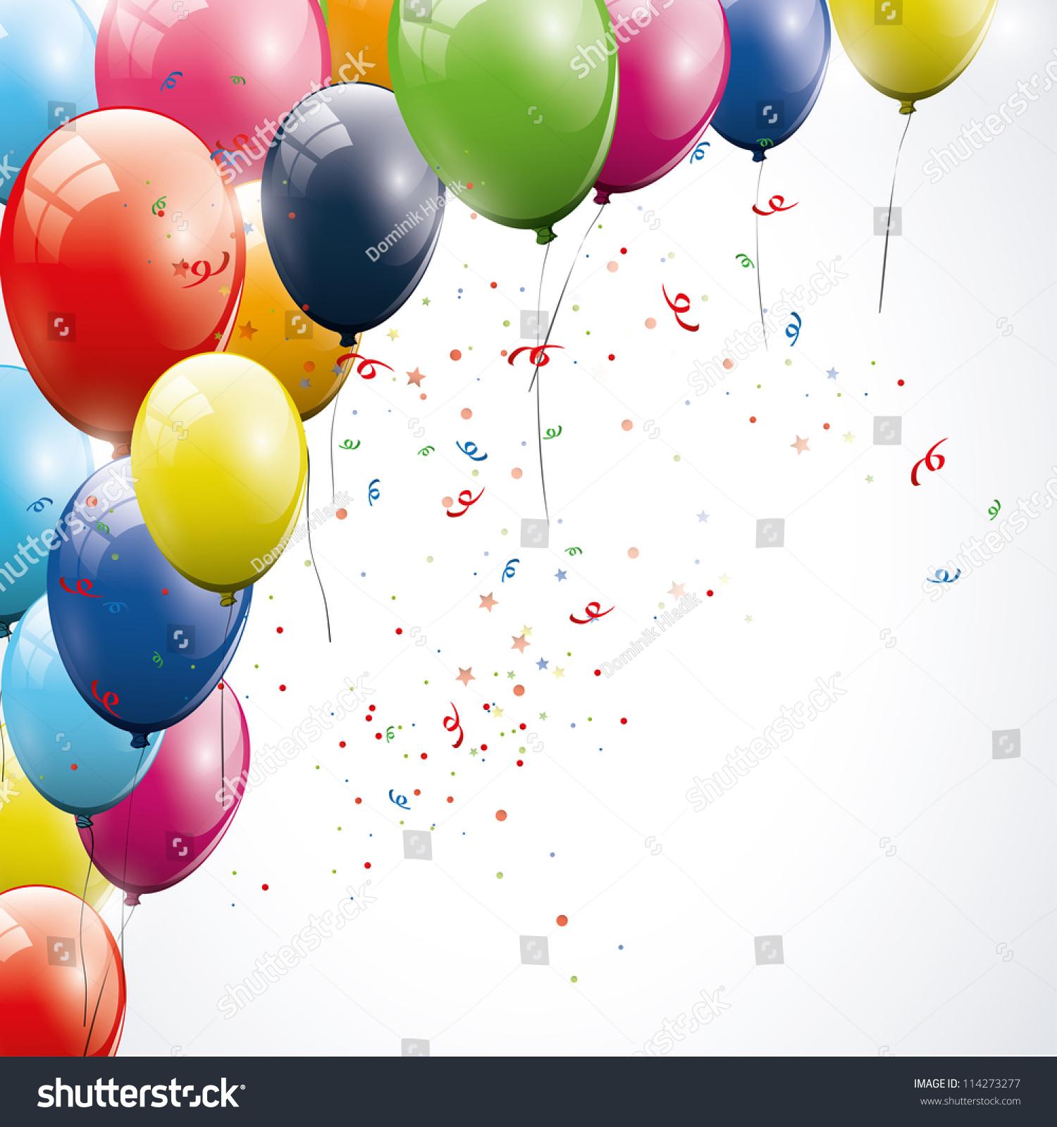 Birthday Background Stock Vector 114273277 Shutterstock